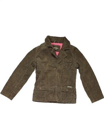 Coat unisex D-ZINE brown 8 years winter #189_1