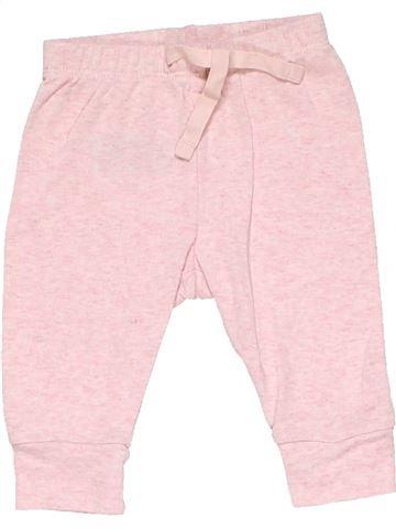 Trouser girl BABY GAP pink 3 months winter #19545_1