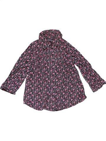 Long sleeve blouse girl BAKKABOE purple 18 months winter #19877_1
