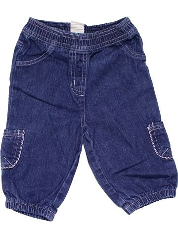 Jeans girl TINY TED blue 6 months winter #19912_1