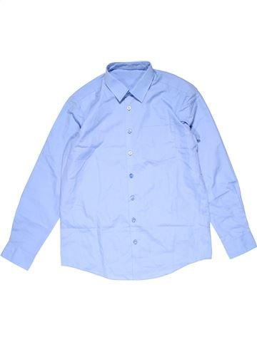 Long sleeve shirt boy GEORGE blue 13 years summer #20038_1