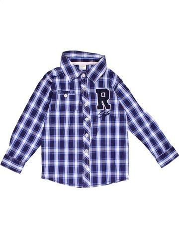 Long sleeve shirt boy DIRKJE blue 4 years summer #20099_1