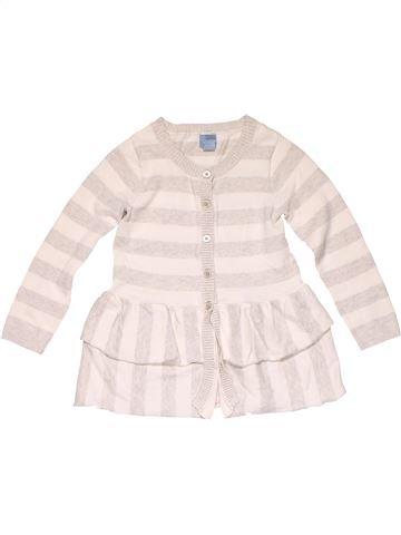 Sweatshirt girl BABY GAP white 4 years winter #20203_1