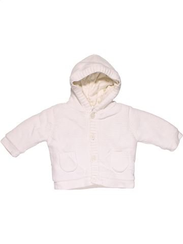 Sweatshirt girl NEXT BABY white 3 months winter #20433_1