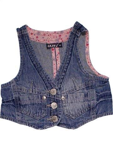 Vest girl OKAY V purple 5 years summer #20437_1