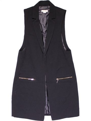 Vest girl RIVER ISLAND black 10 years winter #20454_1