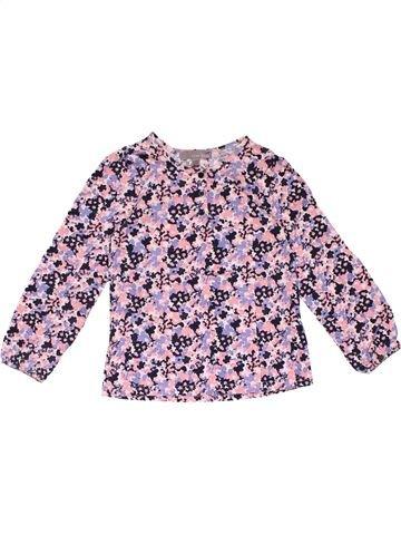 Long sleeve T-shirt girl LISA ROSE gray 5 years winter #20461_1