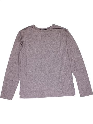 Long sleeve T-shirt unisex PRIMARK gray 13 years winter #20562_1