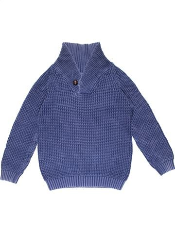 Jumper boy MARKS & SPENCER blue 10 years winter #20593_1