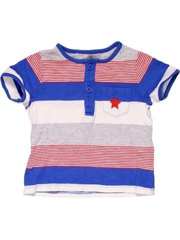 Short sleeve polo shirt boy JOHN LEWIS blue 12 months summer #20614_1