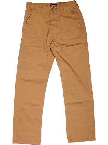 Trouser boy KANGOL brown 10 years summer #20906_1