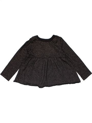 Dress girl GARANIMALS dark blue 4 years winter #20959_1