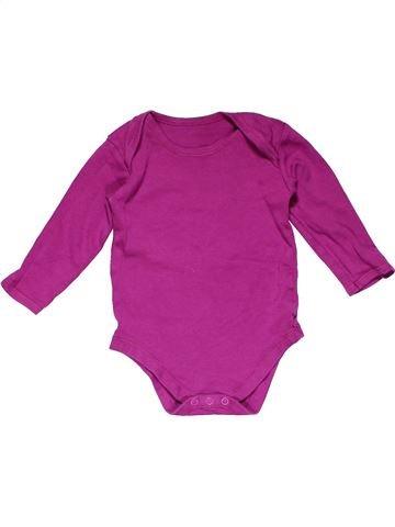 Long jumpsuit unisex MATALAN pink 18 months winter #20989_1
