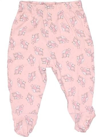 Trouser girl GEORGE pink 6 months winter #21514_1