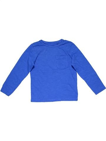 Long sleeve T-shirt boy MOTHERCARE blue 4 years winter #21649_1