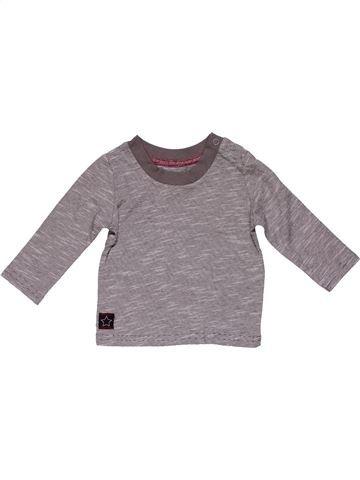 Long sleeve T-shirt boy PRIMARK gray 6 months winter #21712_1