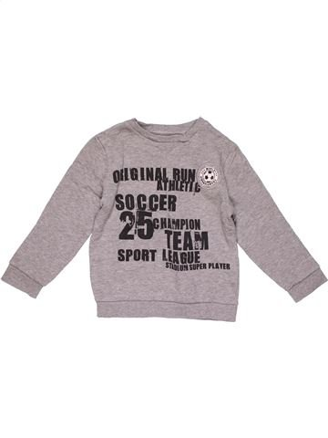 Sweatshirt boy KIABI purple 5 years winter #21783_1
