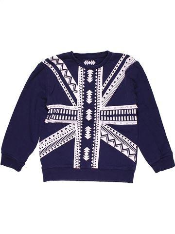 Sweatshirt boy REBEL white 8 years winter #21789_1