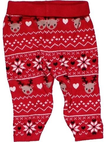 Trouser unisex PRIMARK red 6 months winter #22709_1