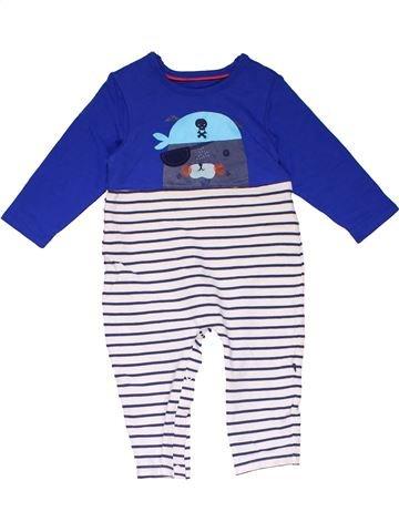 Long jumpsuit boy MARKS & SPENCER blue 9 months winter #22810_1