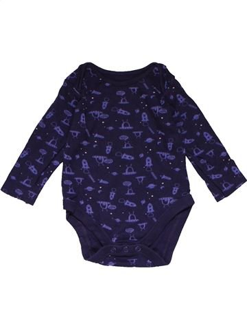 Long jumpsuit unisex MOTHERCARE blue 9 months winter #22841_1