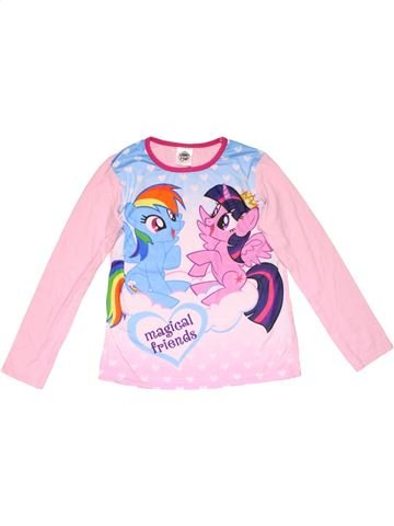 Long sleeve T-shirt girl MY LITTLE PONY pink 10 years winter #22894_1