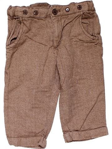 Trouser boy H&M brown 9 months winter #23187_1