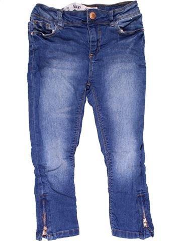 Jeans girl PRIMARK blue 4 years winter #23197_1