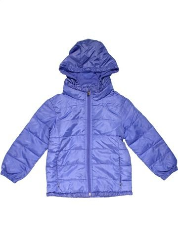 Snowsuit girl MY COAT purple 5 years winter #23236_1