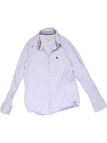 Long sleeve shirt boy H&M white 9 years winter #23472_1