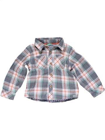 Long sleeve shirt boy HEMA gray 18 months winter #23925_1
