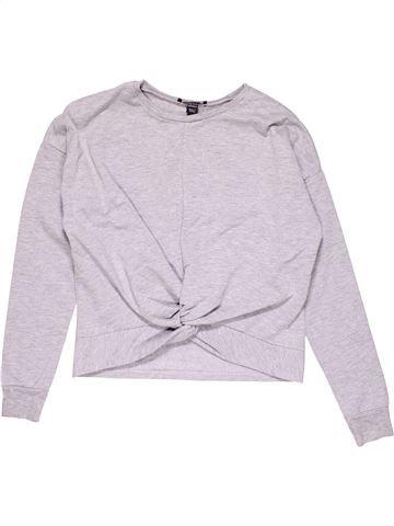 Sweatshirt girl NEW BALANCE white 13 years winter #24113_1