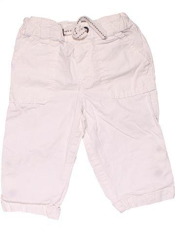 Capri pants boy H&M white 9 months summer #24153_1