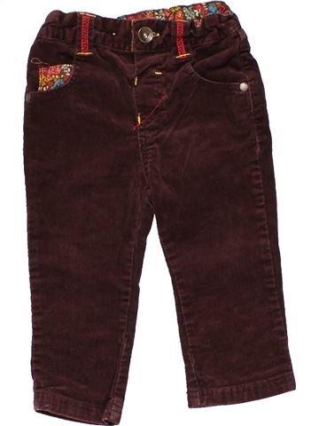 Trouser girl MARKS & SPENCER brown 18 months winter #24258_1
