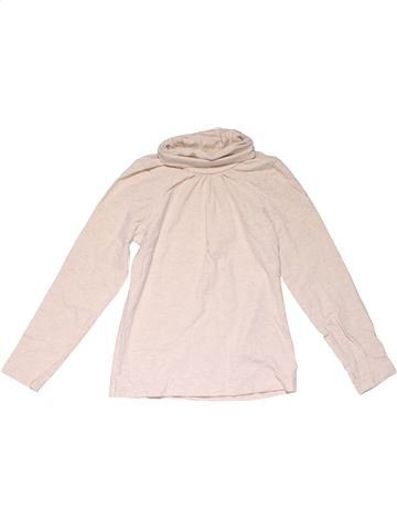Turtleneck T-shirt girl MOTHERCARE pink 7 years winter #24268_1
