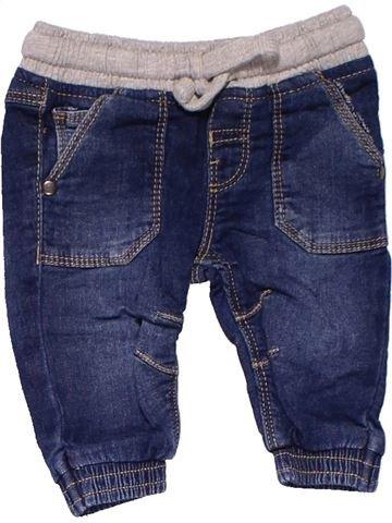 Trouser boy MATALAN blue 3 months summer #24517_1