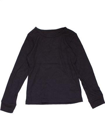 Long sleeve T-shirt girl PRIMARK dark blue 10 years winter #24699_1