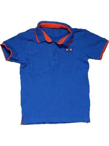 Short sleeve polo shirt boy MATALAN blue 4 years summer #24847_1