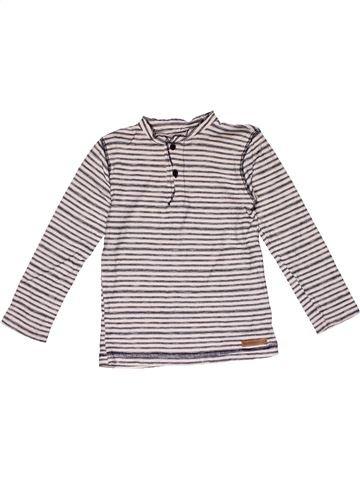 Long sleeve T-shirt boy ZARA white 4 years winter #24848_1