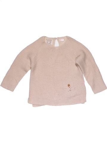 Jumper girl ZARA pink 2 years winter #25108_1