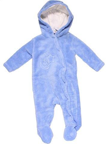 Long jumpsuit unisex ROCK A BYE BABY blue 6 months winter #25433_1