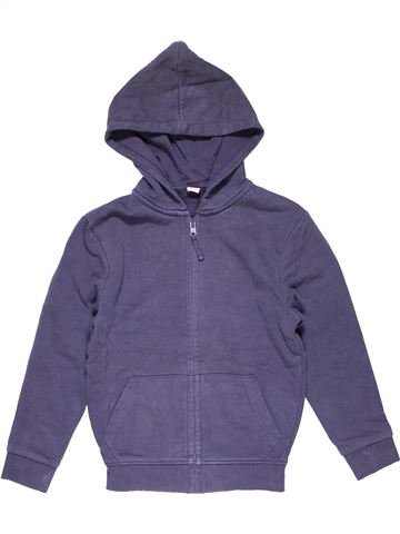Sweatshirt boy TU purple 6 years winter #25483_1