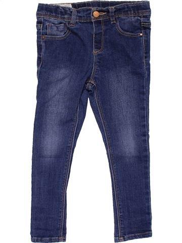 Jeans girl ZARA blue 4 years winter #25566_1
