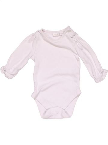 Long jumpsuit unisex NEXT BABY white 3 months winter #25613_1