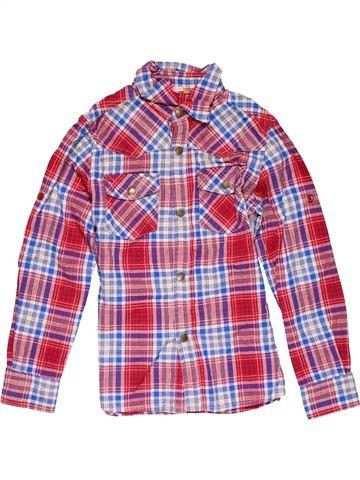 Long sleeve shirt boy HEMA purple 10 years winter #25695_1