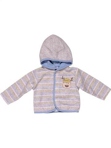 Sweatshirt unisex BABY CLUB white 3 months winter #25719_1