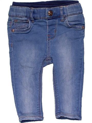 Jeans girl H&M blue 6 months winter #25783_1