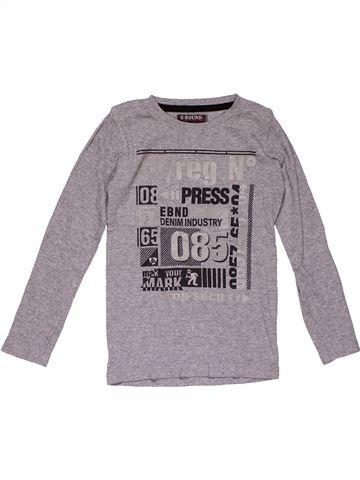 Long sleeve T-shirt girl E-BOUND gray 6 years winter #25922_1