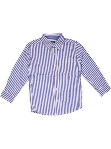 Long sleeve shirt boy OSH KOCH B'GOSH gray 5 years winter #26029_1