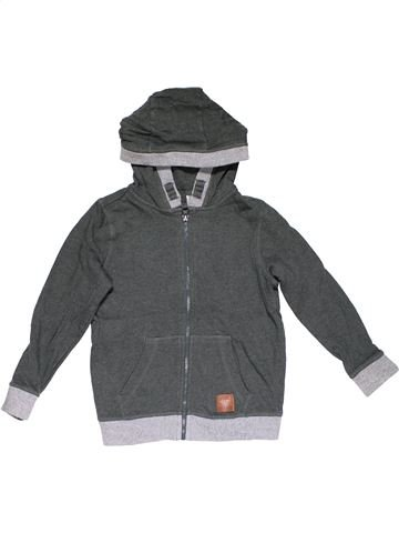 Sweatshirt boy F&F gray 7 years winter #26098_1